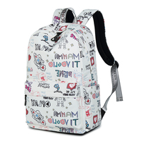 Lightweight Waterproof Laptop Backpack for Girl Cute Bookbag Suit for 15.6 Laptop Space Exploration Backpack