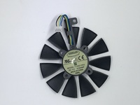 Everflow 87MM T129215SU 4Pin 0.50A Cooling Fan For GTX 980 Ti GTX 1050 1060 1080 1070 RX 480 470 Graphics Card Cooler Fans