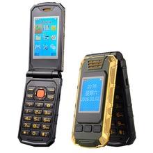 TKEXUN G5 Femmes Flip Téléphone Avec Double Double Écran Caméra Bluetooth Dual Sim Carte 2.4 pouce Écran Tactile De Luxe Cellulaire téléphone