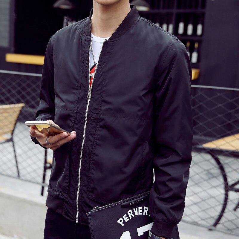 2019 Nuovi Uomini Giacca Autunno Caldo Di Vendita Di Casual Design Slim Fit Outwear Solido Marchio Di Abbigliamento Di Alta Qualità Morbido Giacca Maschile M-4xl I Cataloghi Saranno Inviati Su Richiesta