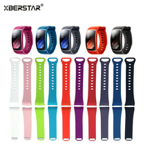 Replacement Silicone Strap Watchband For Samsung Gear Fit2 SM R360 font b GPS b font Sports