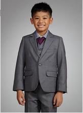 Fashion Children suits for party occasion customized boy suits set (Jacket+Pants+Shirt+vest+ tie) ZB293 coats and jackets child