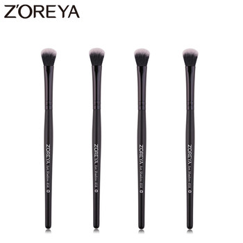 Zoreya Brand High Quality Synthetic Hair Eye Shadow makeup brushes Portable Cruelty Free Eye Makeup Tools Essential Brush