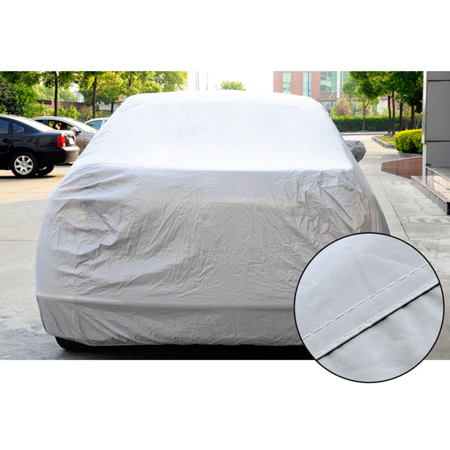 Car Front Wndow Cover/Full Cover Sun Shade Protector Outdoor Wind Dust Snow Rain Protective Cover Auto Accessories Styling 3