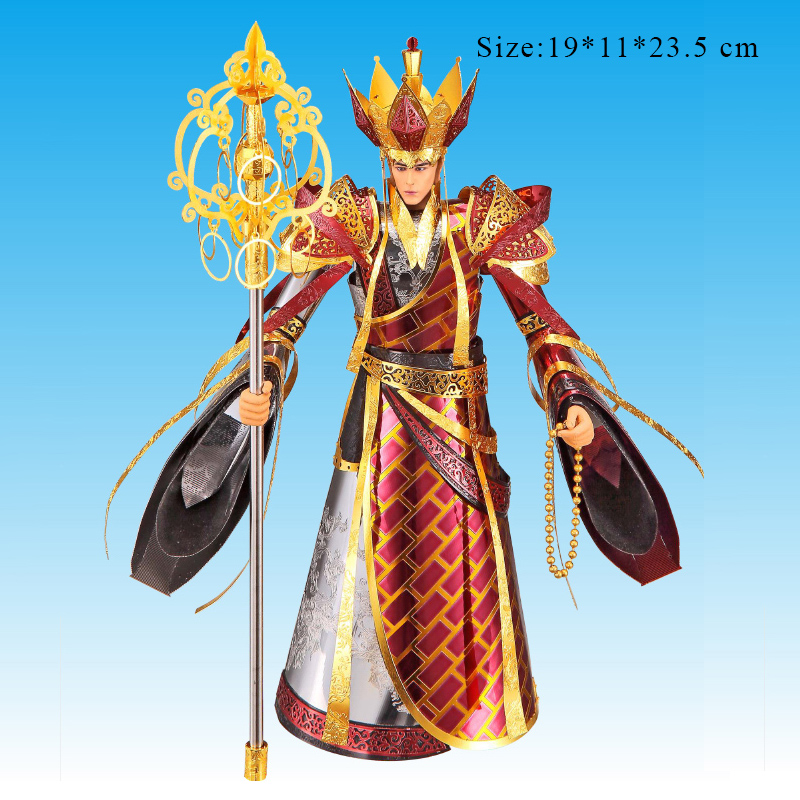 NEW Piececool 3D Metal Puzzle The Holy Monk Of Tang Jigsaws Model Laser Cut DIY