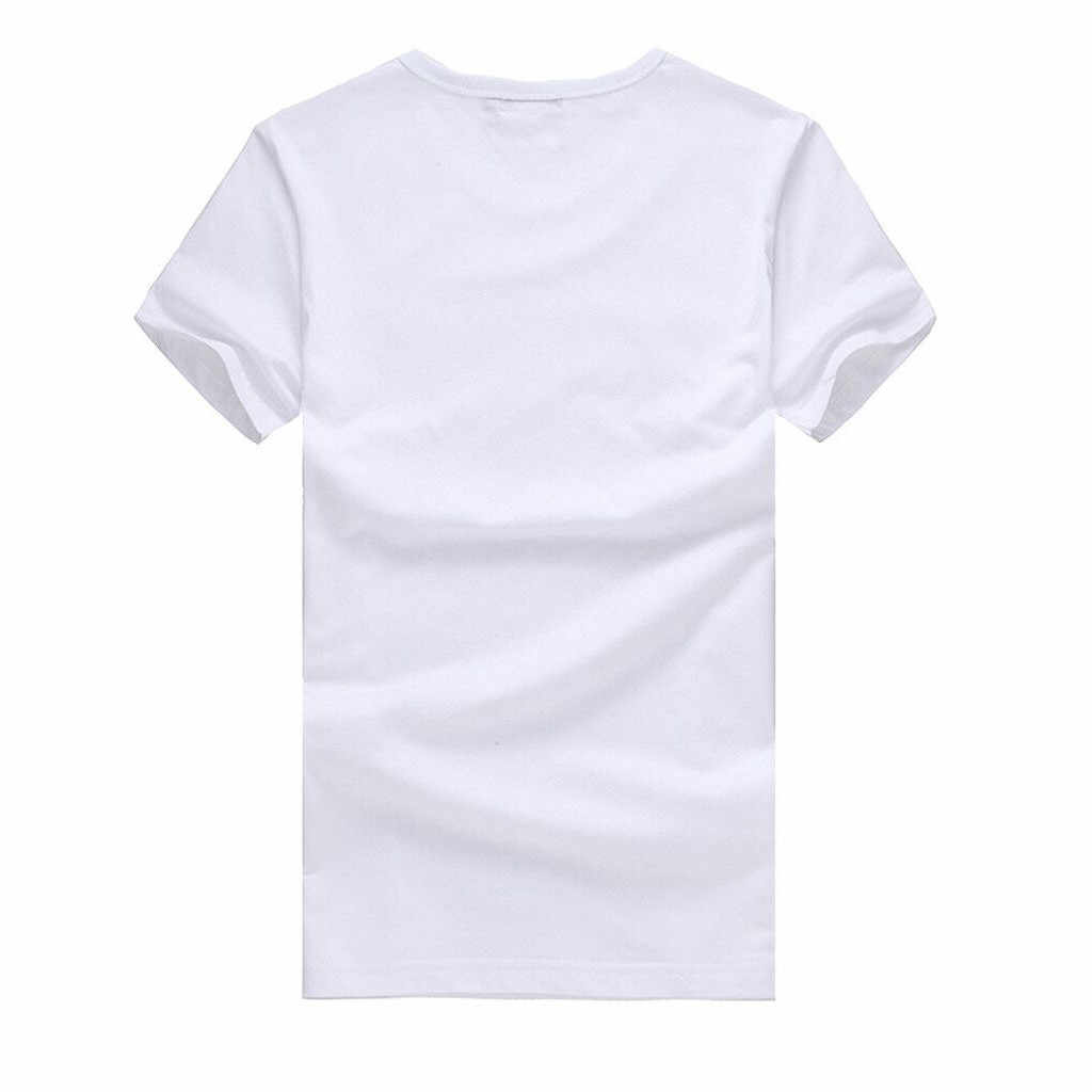Blusas mujer de moda 2019 vrouwen blouse shirt Vrouwen Persoonlijkheid Hoge Hak Cartoon Print Ronde Hals Korte Mouwen Wit t-shirt