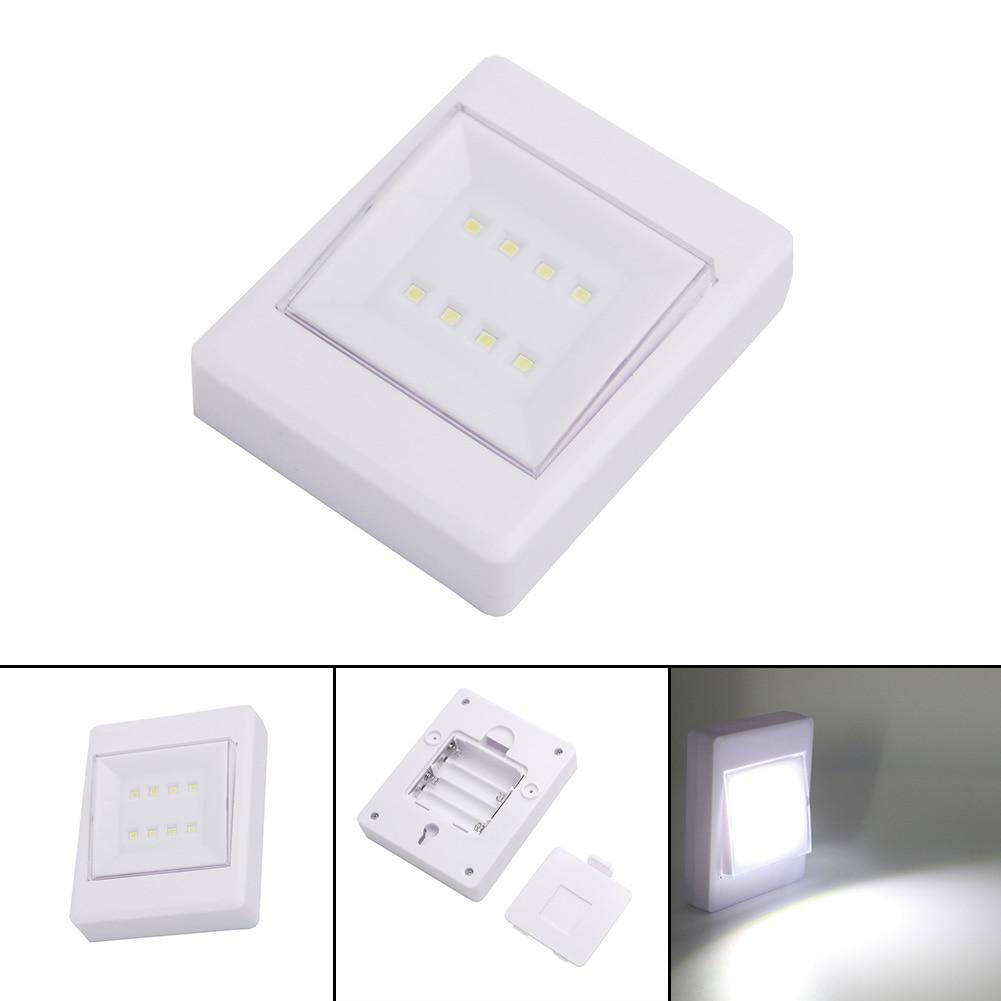 8 Led Cob Light Wall Night Lamp Cob Led Wall Switch