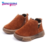 Baby Boy Cotton Shoes 0 2T Winter Babies Boy Genuine Leather Shoes Infant Moccasins Newborn Soft Bottom Toddler Shoes 18Q17