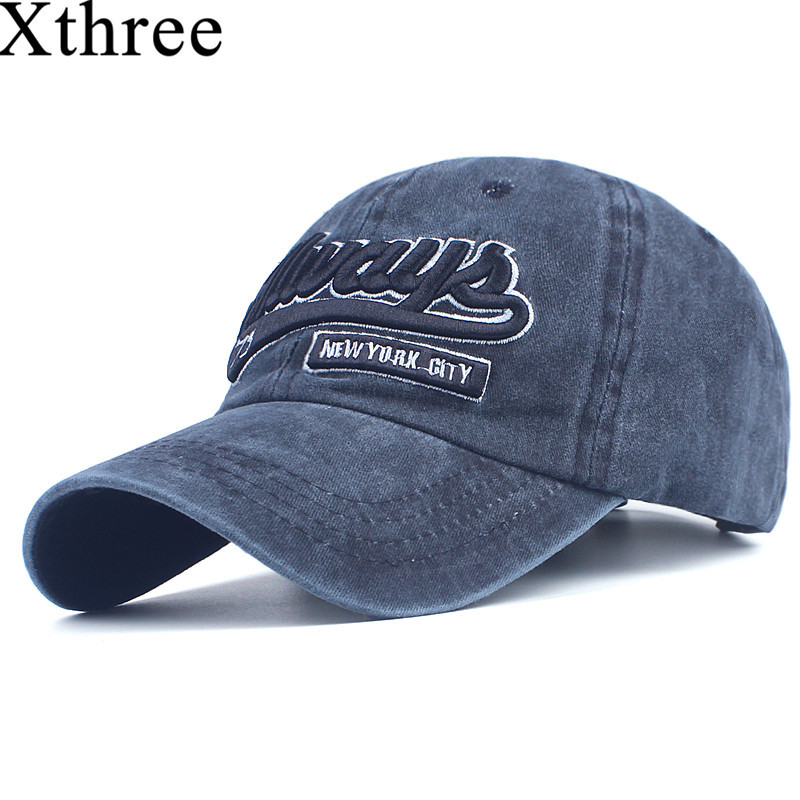 Xthree men baseball cap fitted cap cotton snapback hat for women gorras casual casquette embroidery letter cap retro cap artdeco lash brush