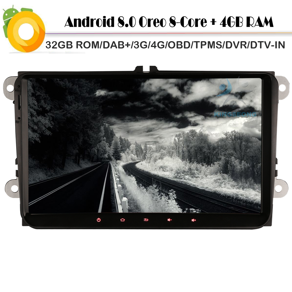 buy 8 core android 8 0 car gps radio for. Black Bedroom Furniture Sets. Home Design Ideas