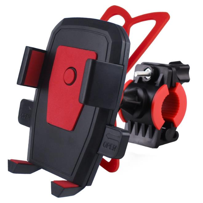 Motorcycle Phone Holder For Samsung S10 S10e S8 Huawei Mate10pro Xiaomi Universal Cell Support Moto Handlebar Clip GPS Bracket in Phone Holders Stands from Cellphones Telecommunications