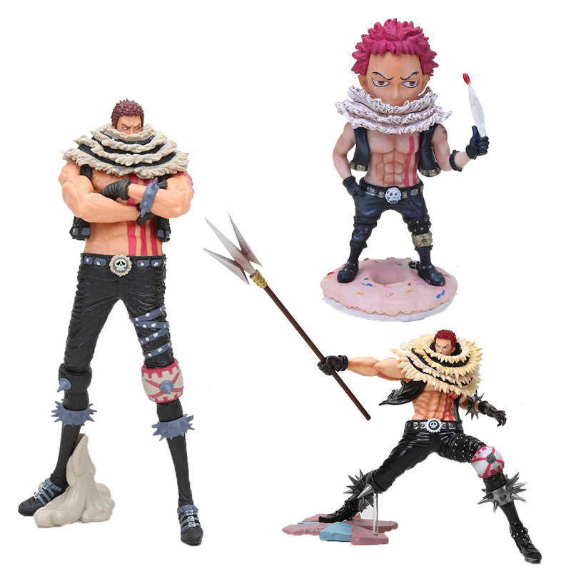 Anime One Piece Figure Doll Charlotte Katakuri One Piece Portrait Of Pirates Pvc Action Figure Toys Doll Action Toy Figures Aliexpress