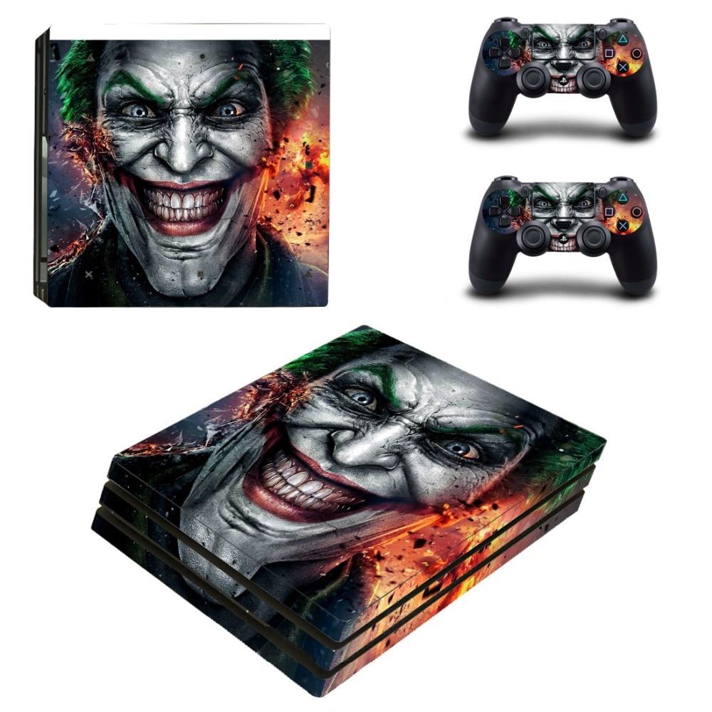 OSTSTICKER OSTSTICKER Pro Gamer Bat Man For PS4 Pro For Sony Playstation 4 Pro Skin Sticker Decal