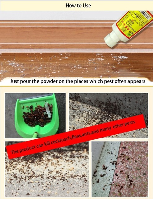1pc Effective TERMITES Kill Ants Cockroach Multi Pest Bait New Arrival Powder Killing Termite Fleas Insect Killer Pest Repeller