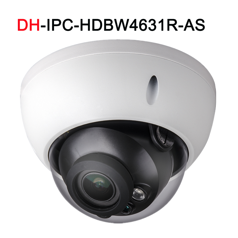 IPC HDBW4631R AS with Audio in out Alarm POE 6MP IP Camera with DH logo Network