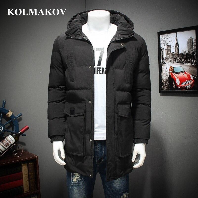 KOLMAKOV nouveau Parkas hommes surdimensionné M-7XL, 8XL veste d'hiver épais manteaux de neige pour grands hommes grande taille Parka manteaux