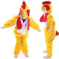 Funky kids Костюм Цыпленка ребенок курица Onesie петух животных костюм комбинезон купальник нарядное платье Хэллоуин костюмы