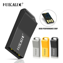 ff37218e3a0 HUIKALUO Metal pen drive waterproof usb flash drive 4G 8G 16G 32G 64G usb  2.0