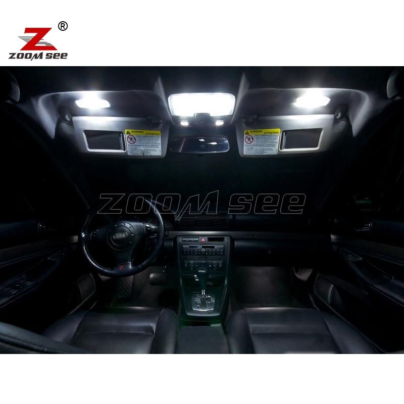 17pc x 100% Gabim falas Llambë LED Harta e brendshme me kube kube - Dritat e makinave - Foto 2