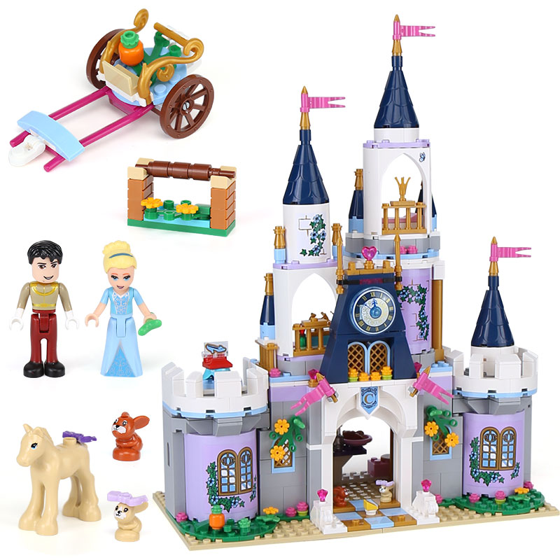Lepin 25014 girl Series The 41154 Dream Castle Set building Blocks Bricks Educational Funny Toys For Kids brithday Gifts new lepin 01018 515pcs girl series castle educational building blocks bricks toys gril toy