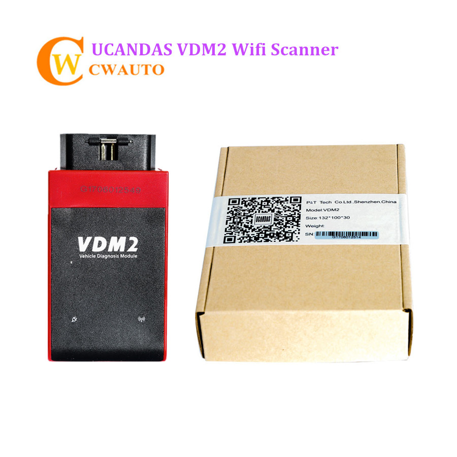 New VDM 2 VDM II V5.2 Wifi UCANDAS Automotive Scanner Multi Language Same Function As Vpecker Easydiag and Xtuner E3