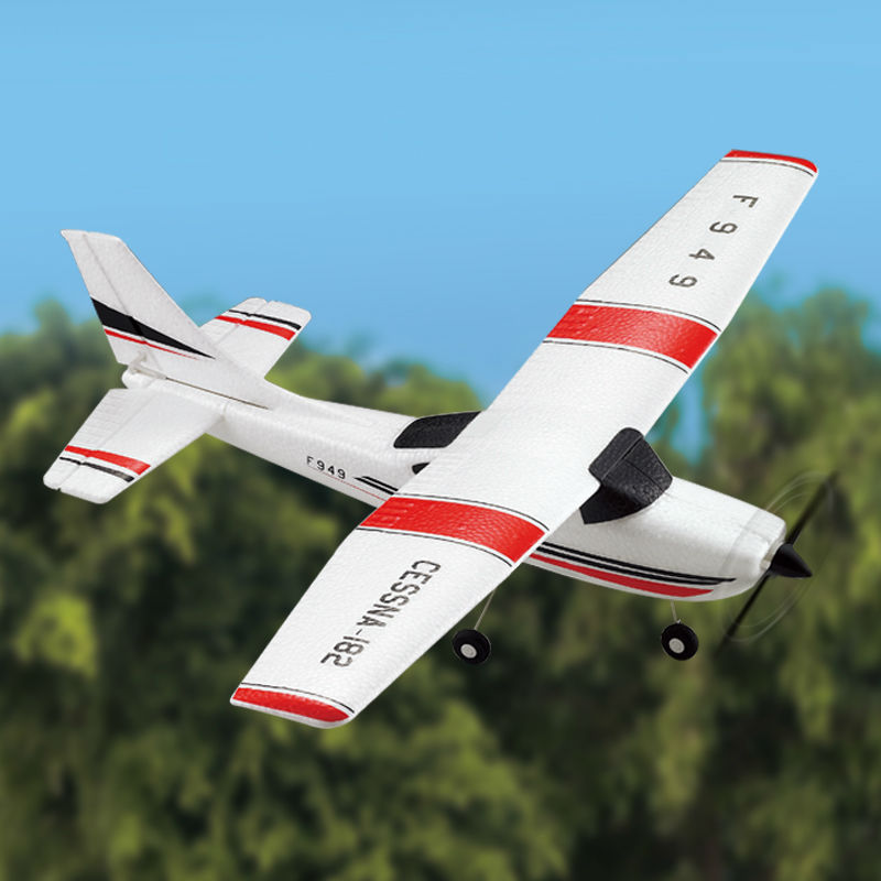 New <font><b>RC</b></font> glider F949 <font><b>rc</b></font> <font><b>plane</b></font> <font><b>Cessna</b></font>-<font><b>182</b></font> 2.4G remote control toy 3CH <font><b>rc</b></font> Fixed Wing Electric flying Aircraft RTFVS F939 F929 image