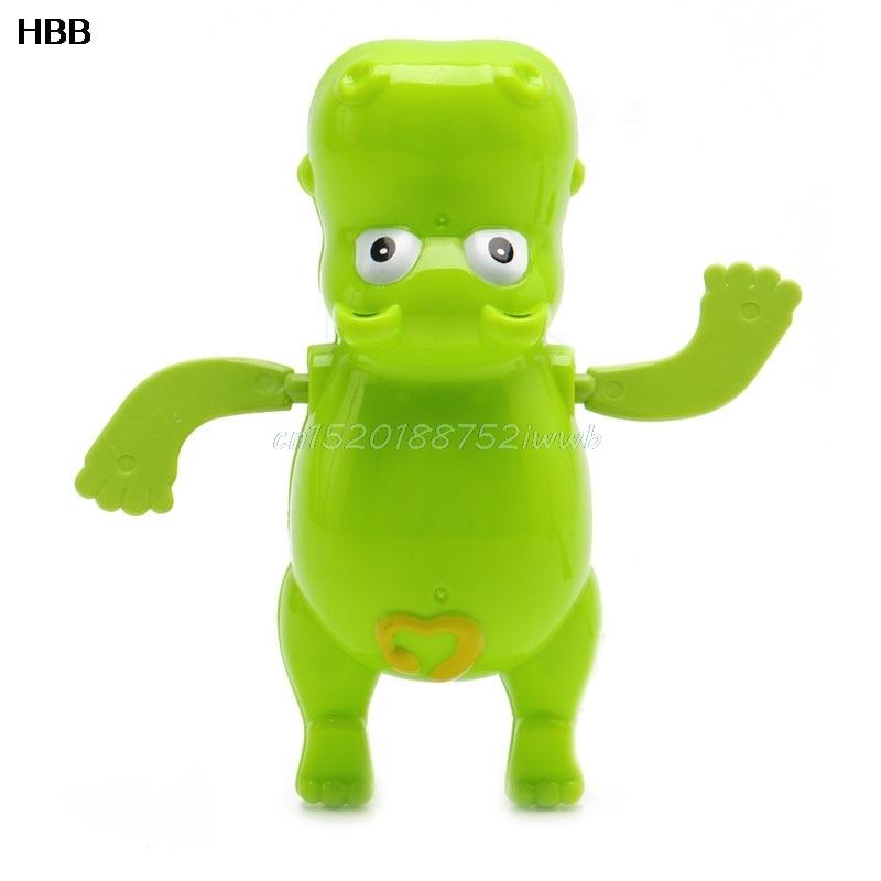 1pc Children Baby Bathing Float Hippo Animal Clockwork Dabbling Toy Funny #T026#