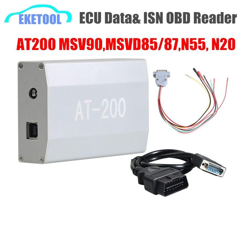 CGDI PROG For BMW AT200 ECU Data Reading/Write Programmer AT 200 ISN OBD Reader Best AT 200 For BMW Cars MSV90 N55 N20 DHL Ship