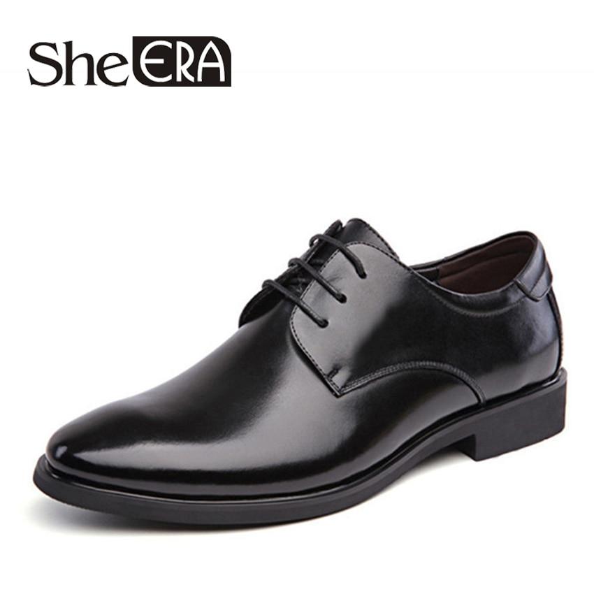 Size 47 48 Fashion PU Leather Men Dress Shoes Pointed Toe Bullock Oxfords Shoes For Men, Lace Up Designer Luxury Men Shoes