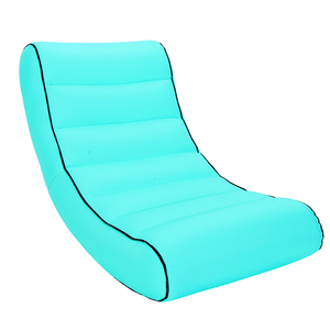 Image 5 - מקורה חיצוני שק שינה מתנפח ספה עבור תיירות קמפינג מזרן חוף תיק עצלן מיטת אוויר מיטת ערסל מחנה חוף כיסא