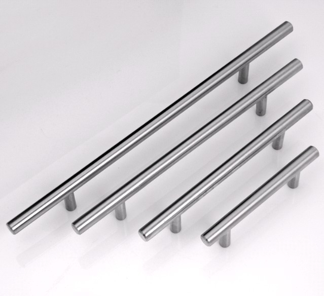 96mm Furniture Stainless Steel Handle Cabinet Closet Drawer Pulls ...