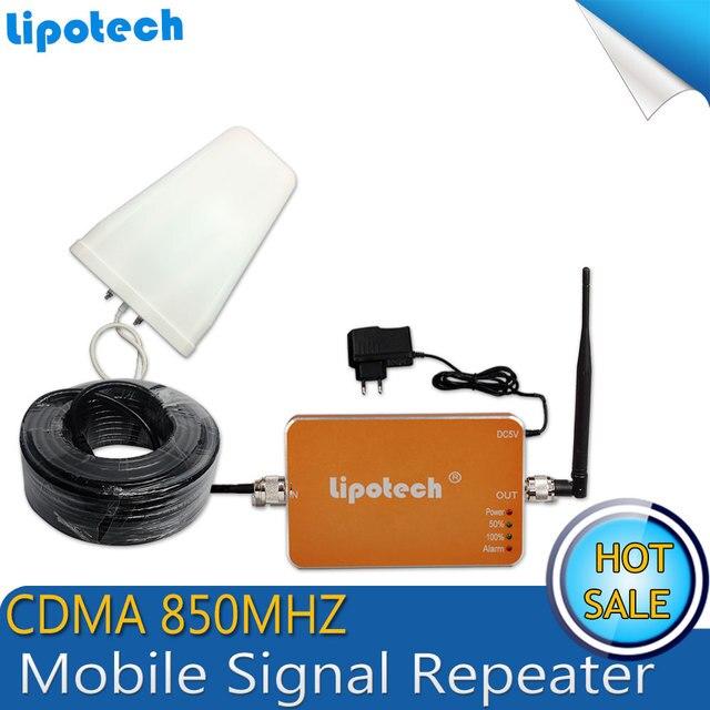 Лучшая Цена! CDMA 850 мГц Booster 3 Г Сотовый Телефон Сигнал Повторителя CDMA 850 мГц Мобильного Сигнала Сотовой усилитель с Антенной Набор