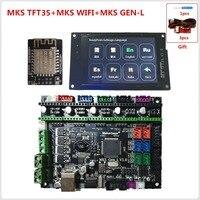 MKS GEN L MKS TFT35 touch screen display MKS TFT WIFI module 3D printer shield control panel main board diy starter kits