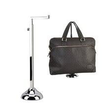 Fashion Metal Mirror Polished bag display handbag stand rack Free shipping RSI007-Mirror bag holder rack