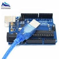 One Set UNO R3 MEGA328P ATMEGA16U2 For Arduino Compatible Yuan