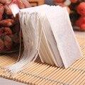 Новые чайные пакетики 100 шт./лот 5,5x7 см пустые чайные пакетики со шнурком, Запаянные, из фильтровальной бумаги для травяного рассыпного чая