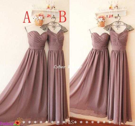 Popular Mauve Bridesmaid Dresses-Buy Cheap Mauve ...