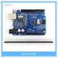 Высокое качество ООН R3 MEGA328P CH340G CH340 для Arduino UNO R3 Без кабеля