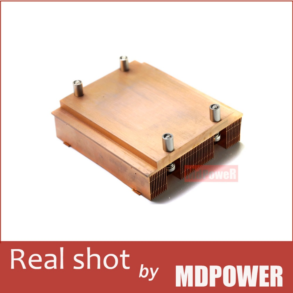 ФОТО 771-pin CPU heatsink /1U server pure copper heat sink DIY modificationsheat sink radiator