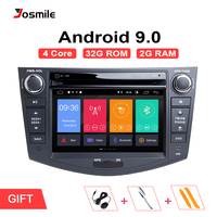 Android 9.0 2 din Car Radio Car DVD Player For Toyota RAV4 Rav 4 2006 2007 2008 2009 2010 2011 2012 GPS Navigation Wifi OBD2 TV