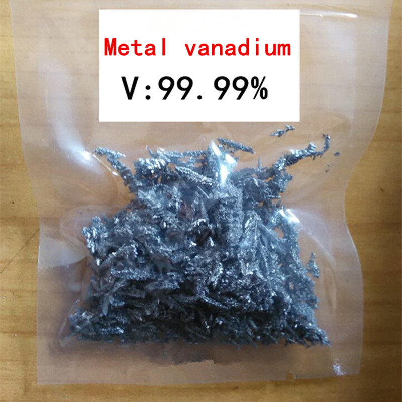 10g High Purity Metal Vanadiumv Elemental Vanadium Pure Vanadium Used For Experiment