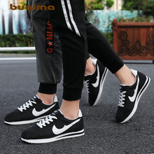Buqima breathable sneakers couple shoes forrest net lightweight casual fitness