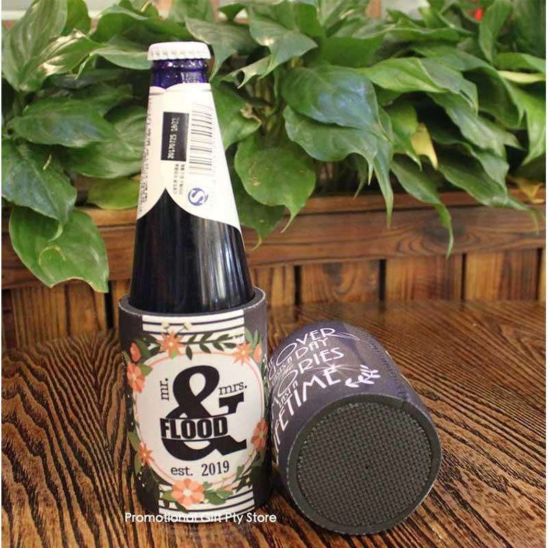 200 Teile/los Custom Design Party Bier Kann Kühler Hochzeit Favor Dekoration Baby Shower Party Trinken Neopren Bier Kühltasche