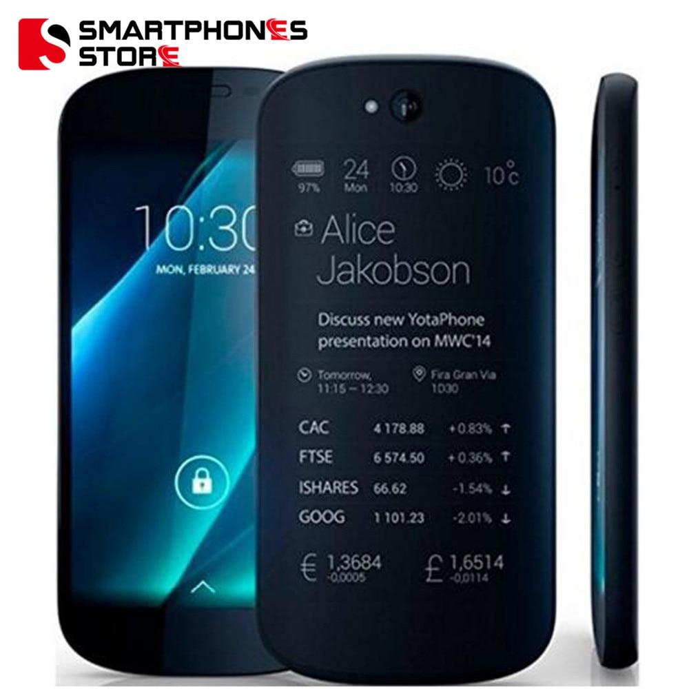 Yota Yotaphone 2 4 г двойной экран »HD Экран 4,7» сенсорный E-ink Snapdragon 4 ядра 8.0MP, Android 5,0 мобильный телефон очень стильный.