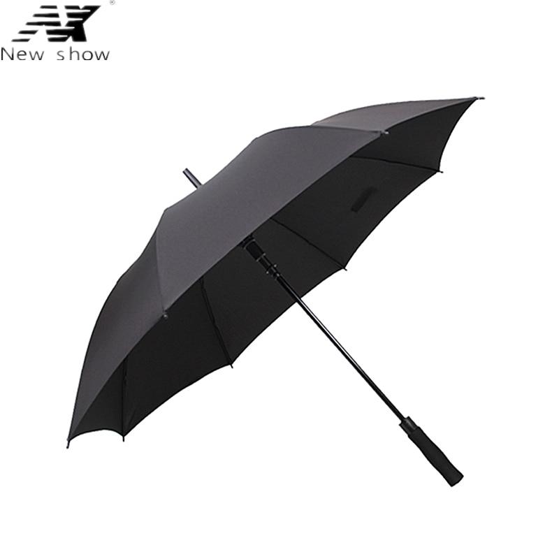 NX parapluie paraguas 긴 우산 비즈니스 반자동 대형 강풍 방풍 골프 우산 접이식 야외 우산 남성