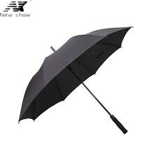 NX parapluie paraguas long umbrella Business Semi-automatic Large strongs windproof Golf umbrella folding outdoor umbrella men