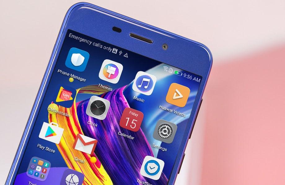 Оригинальный huawei Honor 6C Pro 13.0MP Камера ультра тонкий смартфон 5,2 дюймов MT6750 Octa Core Android 7,0 P