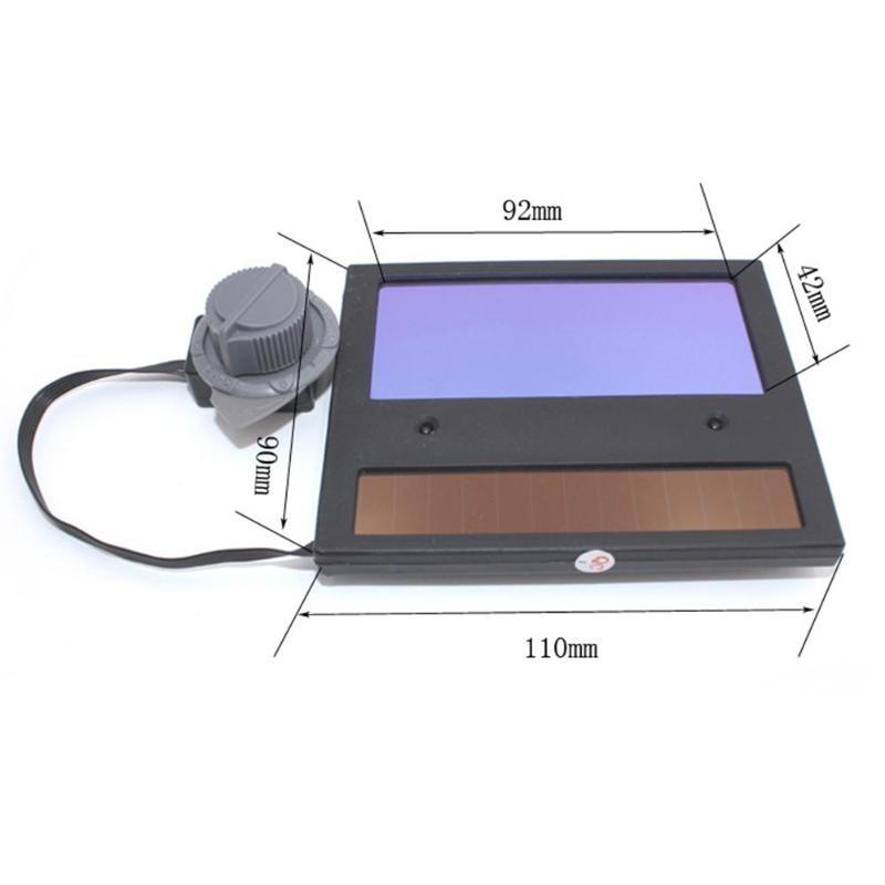 DIN9~DIN13 LCD Screen Solar Car Darkening Mask Goggles Lens For Welding Helmet