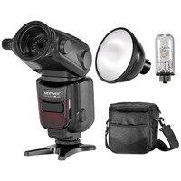Neewer E TTL HSS Slave Outdoor Flash Speedlite Strobe Light Diffuser Lamp Reflector Protective Bag For