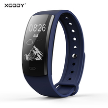 XGODY QS90 Bracelet Smart Watch With Heart Rate Monitor Sport Fitness Tracker Waterproof Smartwatch for Android iphone
